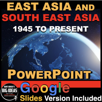 East Asia & South East Asia to Present Powerpoint with Pre