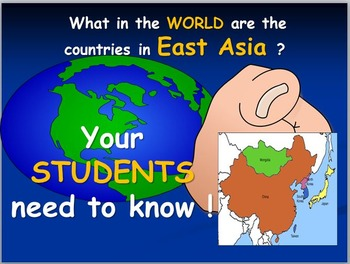 East Asian Map Activities