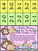 Easter Activities: Easter Bunny Easter Ten Frames Math Act