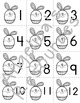 Easter Number Cards 1-20