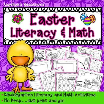 Easter: Literacy and Math Activities