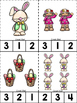 Easter ABC's & 123's Clip Cards {NO DITTOS}