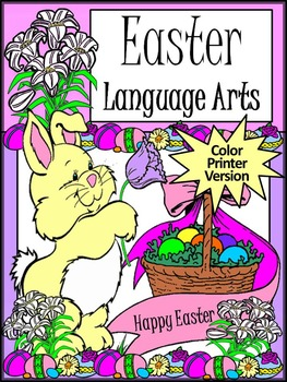Easter Language Arts Activity Packet