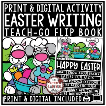 Easter Activities • Easter Flip Book •  2nd Grade, 3rd Gra