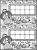 Easter Game Activities: Easter Bunny Easter Ten Frames Act
