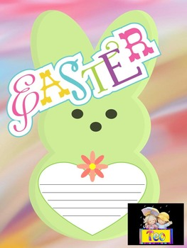 Easter Activities - Spring - Writing paper
