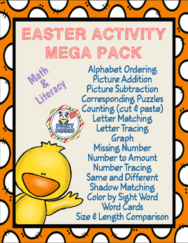 Easter Activities Mega Pack