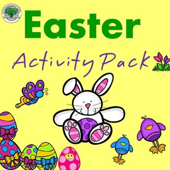 Easter Activity Pack NO PREP Good Sub Lesson