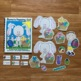 """Easter Adapted Book--""""Bunny's Hopping Out"""""""