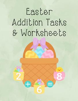 Easter Addition Tasks and Worksheets