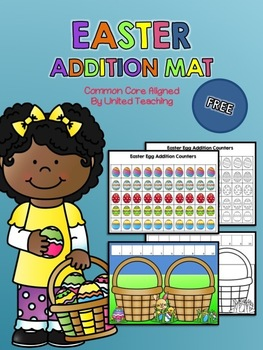 Easter Addition to 10 Mat Freebie