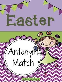 Easter Antonym Match