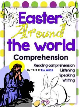 Easter Around the Word {Reading Comprehension, + printable