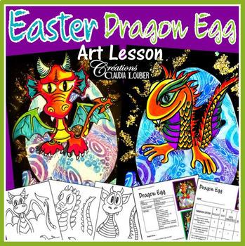 Easter Art Activity: Dragon Egg