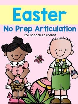 Easter Articulation: NO PREP!