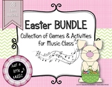 Easter BUNDLE ~ 28 activities & games for rhythm, melody & more