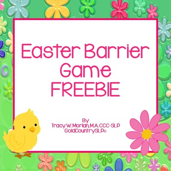 Easter Barrier Game {revised March 2017}