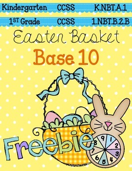 Easter Basket Base 10 FREEBIE