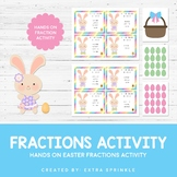 Easter Basket Fraction Math Activity
