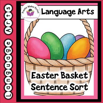 Easter Basket Sentence Sort