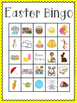 Easter Bingo (30 completely different cards & calling card