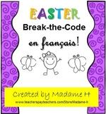 Easter Break-the-Code en français!