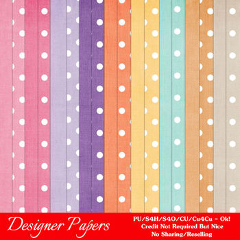 Easter Bunnies Digital Papers Backgrounds 1 Cardstock & Po