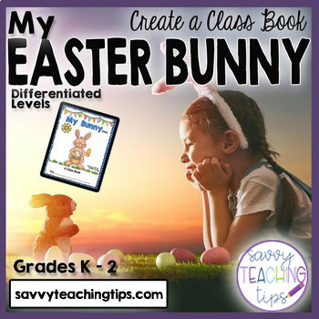 Easter Bunny Class Book