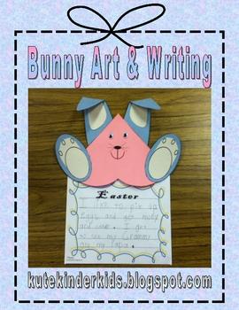 Easter Bunny Art & Writing Fun