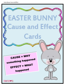 Easter Bunny Cause and Effect