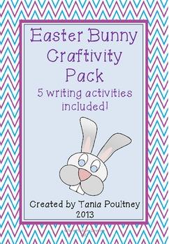 #betterthanchocolate Easter Bunny Craftivity