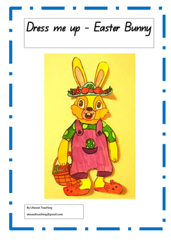 Easter Bunny Dress Up