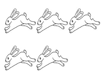 Easter Bunny Hops Whole Group Syllable Activity