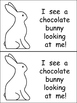 Easter Bunny What Do You See Emergent Reader for Kindergar