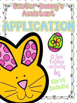 Free Easter Bunny's Assistant Application and Hoppy Helper