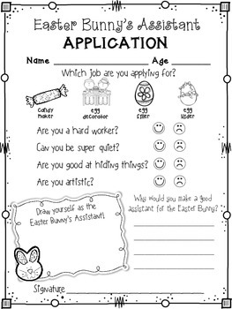 Free easter bunny 39 s assistant application and by khrys for What is the easter bunny s phone number