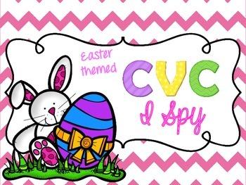 Easter CVC I Spy {FREEbie}