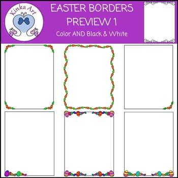 Easter & Carrot Borders