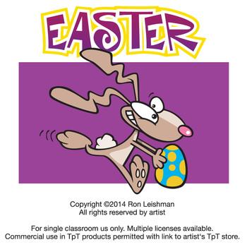 Easter Cartoon Clipart