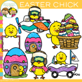 Easter Chick Clip Art