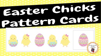 Patterns: Easter Chicks Pattern Cards