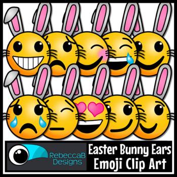 Easter Clip Art: Emoji Easter Clip Art, Emotions