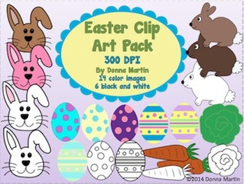 Easter Clip Art Pack