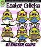 Easter Chick Clip Art {Squishies Clipart}
