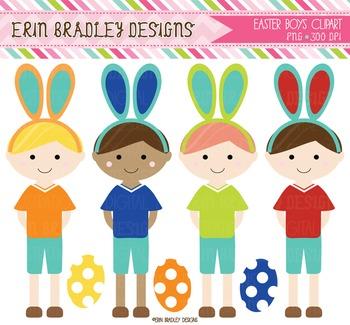 Easter Clipart - Digital Boys Graphics