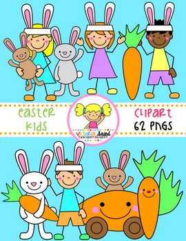Easter Clipart {Kids Clipart}