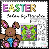 Easter Color by Number!