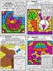 Easter Color by Number & Symbol (Music)