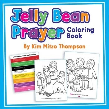 Easter Coloring Book: The Jelly Bean Prayer