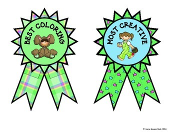 Easter Coloring Contest